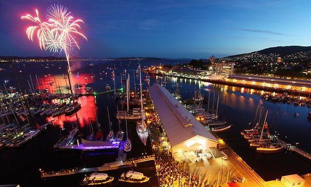 Hobart New Years Eve Fireworks