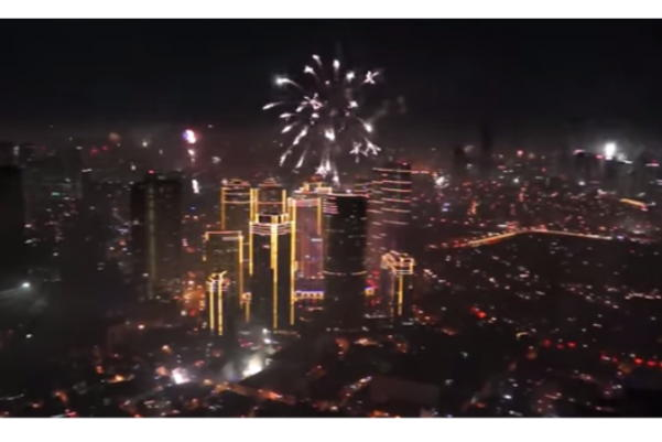 New Years Eve Fireworks in Manila