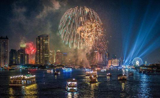 Phuket New Years Eve Fireworks