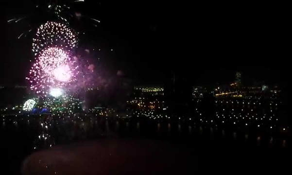 Sharjah New Years Eve Fireworks