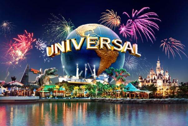 Universal Studios Singapore New Years Eve Fireworks