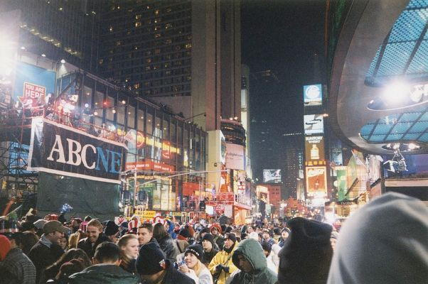 ABC News Coverage from the Times Square, New York City