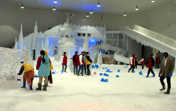 Snow City, Bangalore