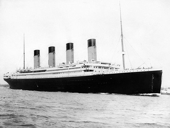 Original Titanic Ship