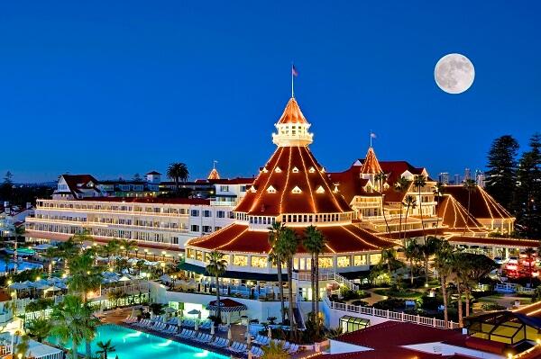 Hotel del Coronado During Christmas