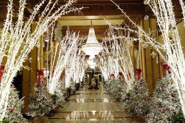 The Roosevelt Hotel, New Orleans During Christmas