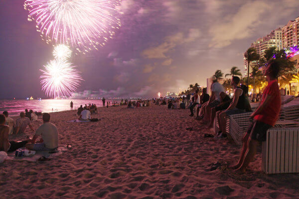 Miami 4th of July Fireworks