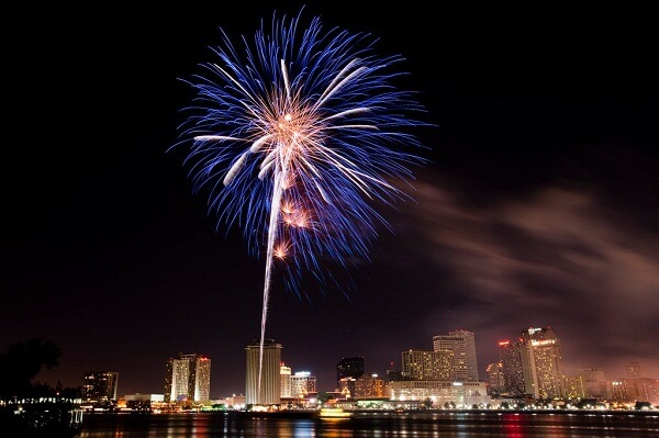 New Orleans 4th of July Fireworks