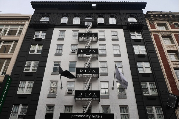 Hotel Diva San Francisco, Union Square