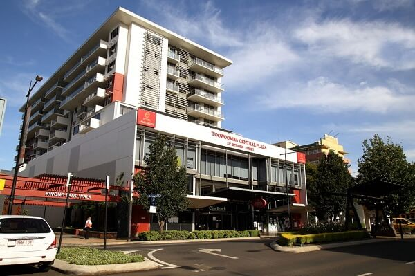 Toowoomba Central Plaza Apartment Hotel, Ruthven Street