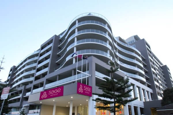 Sage Hotel Wollongong, Harbour Street