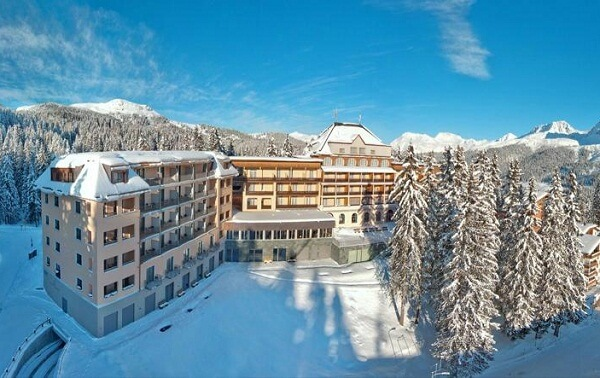 Waldhotel National Superior, Arosa