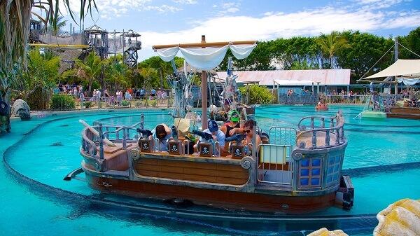 Sea World Resort & Water Park, Main Beach