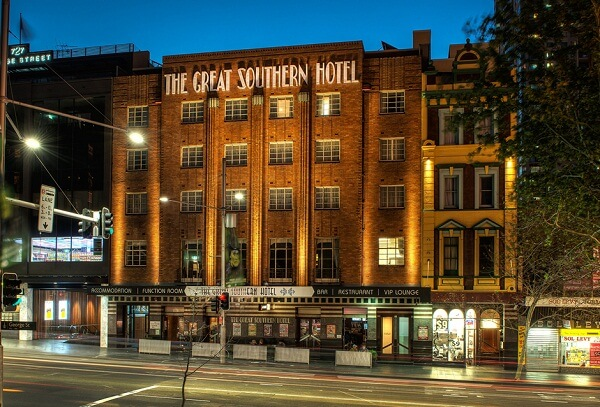 The Great Southern Hotel, Sydney CBD