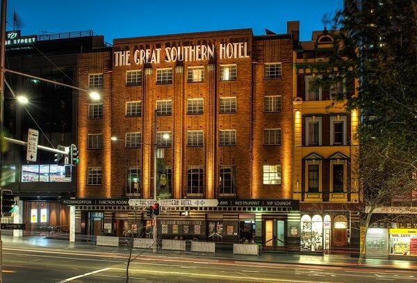 The Great Southern Hotel, Sydney CBD