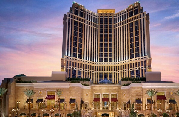 The Palazzo Resort Hotel Casino, Las Vegas Strip