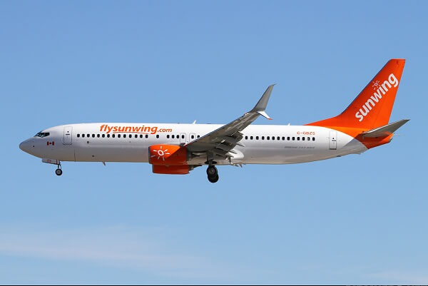 Sunwing Airlines, Canada