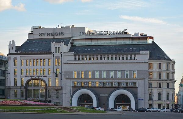 The St. Regis Moscow Nikolskaya, Ulitsa Nikolskaya