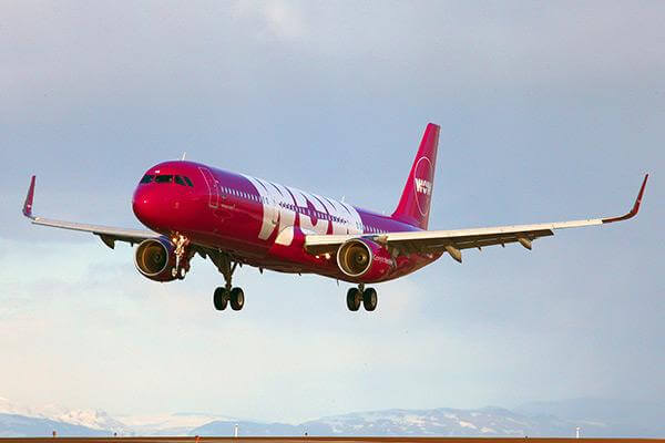 Wow Airlines, Iceland