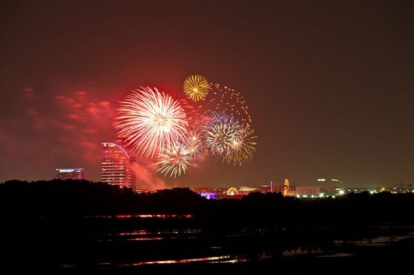 Doha New Years Eve Fireworks