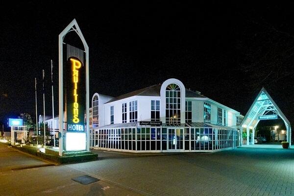 Pavilions Hotel, Christchurch