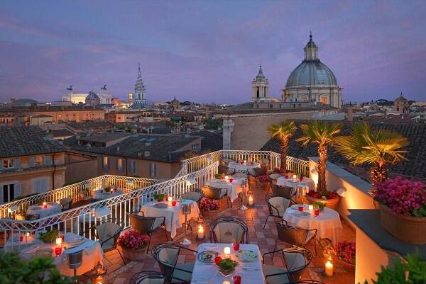 Hotel Raphael Relais and Châteaux, Rome