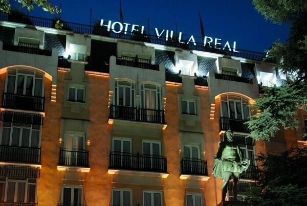 Hotel Villa Real, Madrid