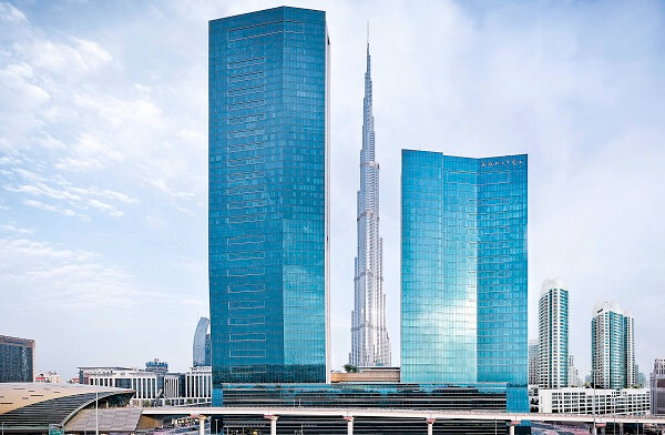 Hotel Sofitel Dubai Downtown for Dubai New Years Eve 2019