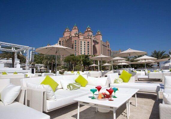 Nasimi Beach Restaurant Dubai New Years Eve 2019 Event, Party, Dinner, and Celebrations