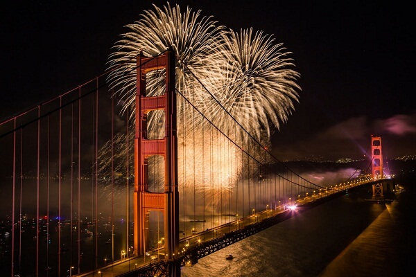 4th of July Bay Area Fireworks