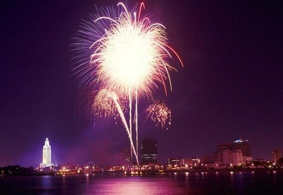 4th of July Baton Rouge: Fireworks Live Stream Tips, Activities, Best Things to Do, Celebrations and Events