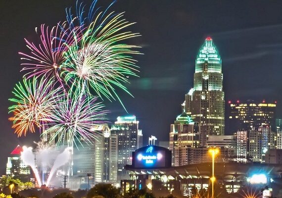 4th of July Charlotte NC: Fireworks Live Stream Tips, Events, Celebrations and Parties