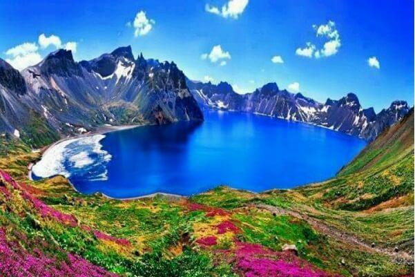 Changbai Mountains, China - North Korea Border