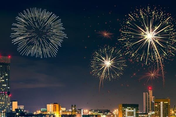 Manchester New Years Eve Fireworks