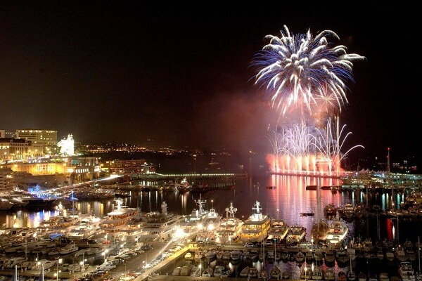 Monaco New Years Eve