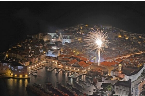 Dubrovnik New Years Eve Fireworks