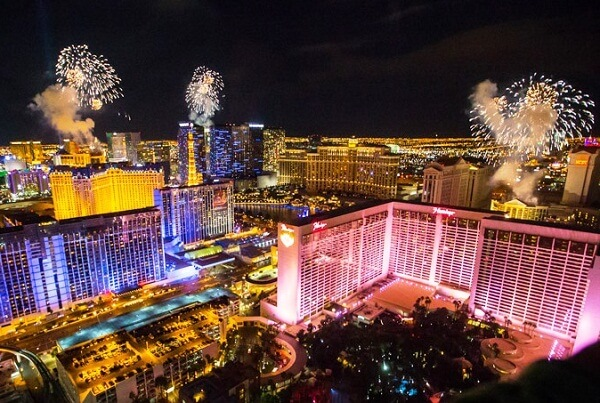 Las Vegas New Years Eve Fireworks