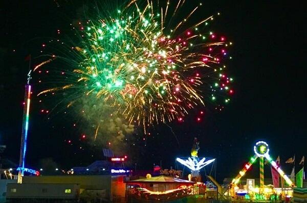 Wildwood NJ New Years Eve Fireworks