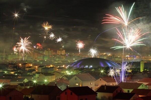 Zadar New Years Eve Fireworks