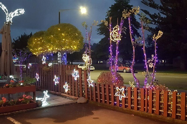 Christmas Decorations in Rotorua NZ