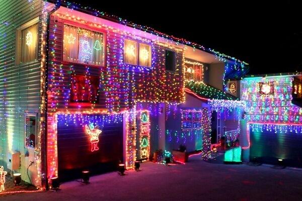 Christmas Lights in Rotorua NZ