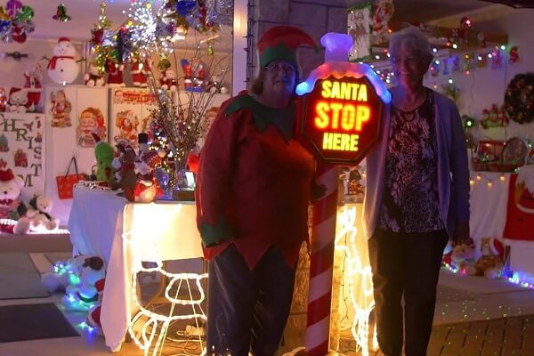 Christmas Lights in Rotorua