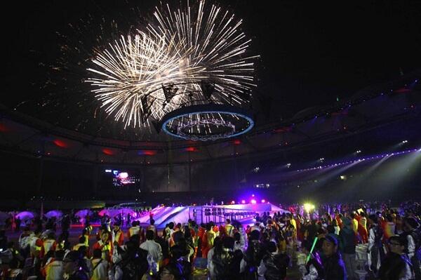 Incheon New Years Fireworks