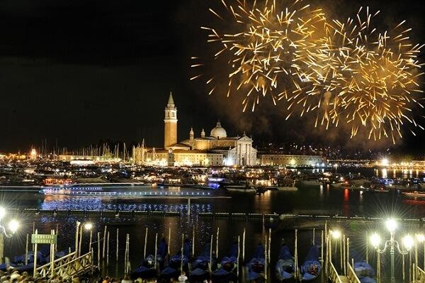 Venice New Year Fireworks