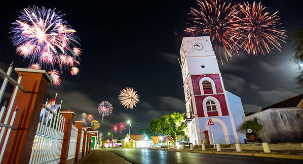 Aruba New Year Fireworks