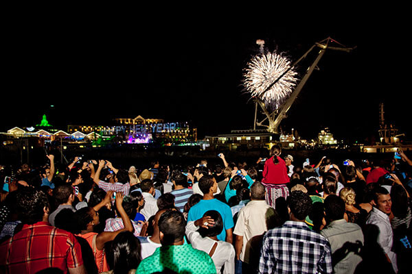 Cape Town New Year's Party