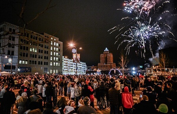 Cleveland New Years Eve Fireworks