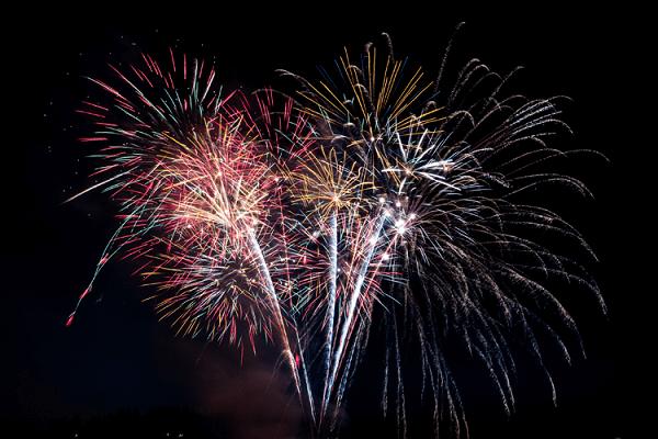Hocking Hills New Years Eve Fireworks