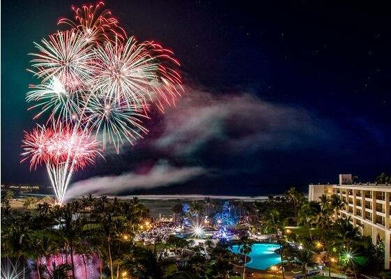 Oahu New Years Eve Fireworks