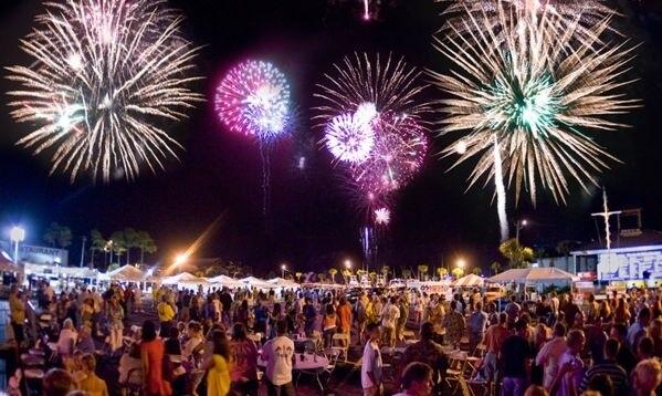 Panama City New Year Fireworks